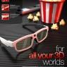 XpanD youniversal, digital 3D glasses