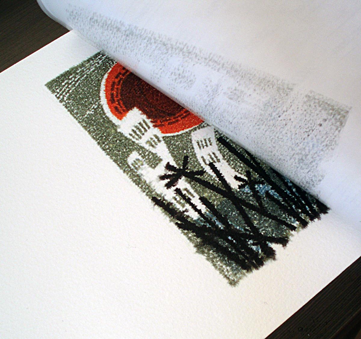 Prenos na papir