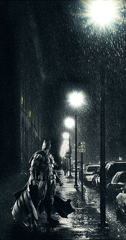 POKONCEN BATMAN